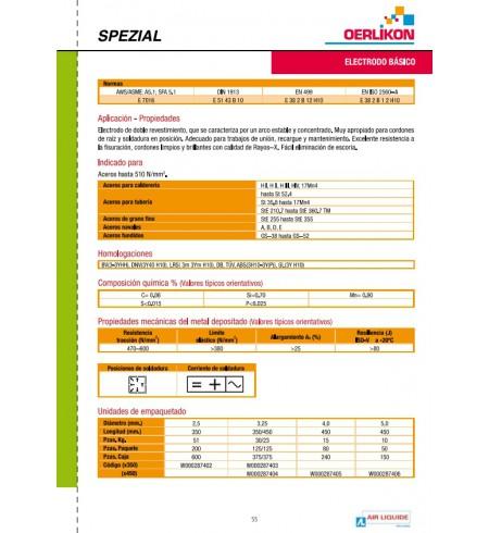 ELECTRODO BASICO 7016
